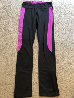c94c58b8371 C9 by CHAMPION Black Yoga crossFIT Athletic Exercise Tights Pants womens  Small  fashion  clothing