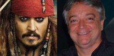 Piratas do Caribe: A Vingança de Salazar não terá o dublador brasileiro de Johnny Depp