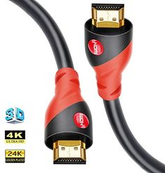 Save 50% on AMAZON with code 50178LXN Pinned on 9/27/2018 HDMI Cable 4K / HDMI Cord 15ft - Ultra HD 4K Ready HDMI 2.0 (4K@60Hz 4:4:4) - High Speed 18Gbps - 28AWG Cord-Ethernet /3D / ARC/CEC / HDCP 2.2 / CL3 - Xbox PS4 PC HDTV by Farstrider Electronic Deals, Hdmi Cables, High Speed, Cord, Coding, Ps4, Xbox, Amazon, Cable