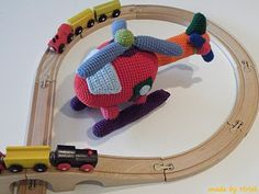 Crochet helicopter
