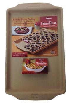 shop.crackerbarrel.com home-furniture kitchen-dining cookware-bakeware haeger-naturalstone-trade-natural-10-x-15-sheet-pan 475784