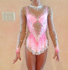 мои купальники Sport Gymnastics, Rhythmic Gymnastics Leotards, Contemporary Dance Costumes, Ice Skating Dresses, Figure Skating, Skate, Bodysuit, Couture, Stylish