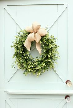 Boxwood and Burlap W