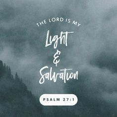 The Lord is my light and my salvation— so why should I be afraid? The Lord is my fortress, protecting me from danger, so why should I tremble? Psalms 27:1 NLT http://bible.com/116/psa.27.1.NLT