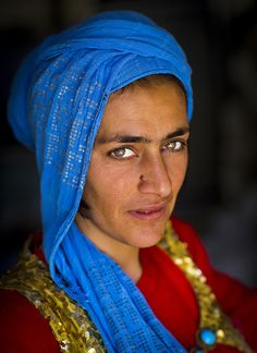 Kurdish woman, Iran by Eric Lafforgue, via Flickr