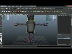 Creating an Advanced Multi-Character Rig for Futurama's Bender in Maya - Part 1