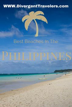 Its more fun in the Philippines! Some of the worlds best beaches are in the Philippines. See where else in the world has some of the best beaches at http://www.divergenttravelers.com/best-places-world-beaches/