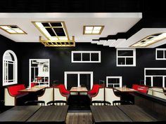 The Room restaurant Joey Ho Design Limited Hong Kong