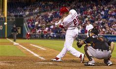 Philadelphia Phillies Chase Utley - September 16, 2013  ⚾