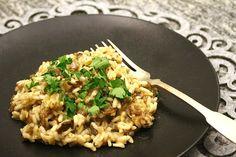 Sienirisotto (lähes) tyhjästä | epätrendikäs ruokablogi | Bloglovin'