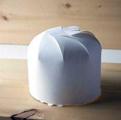 DIY paper hat model