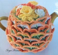 Crochet Tea Cosy. by IvysTreasures on Etsy