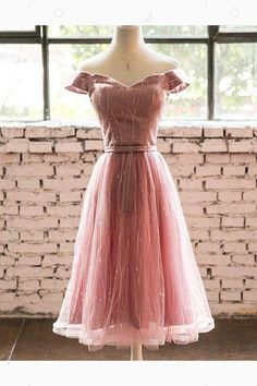 Pink Homecoming Dresses, Prom Dresses Long, Prom Dresses A-Line, Short Prom Dresses, Short Homecoming Dresses #PinkHomecomingDresses #PromDressesLong #PromDressesALine #ShortPromDresses #ShortHomecomingDresses