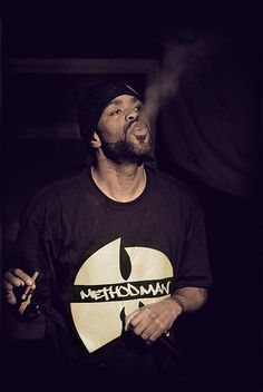 Method Man — doing what he does