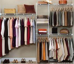 15 Dicas para aproveitar bem o seu armário ou closet   www.ohdecasaa.com