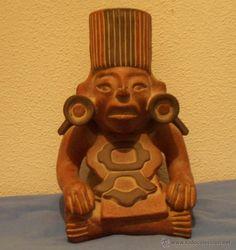 indio sentado, estilo precolombino, - Comprar Arte Étnico Antiguo ...