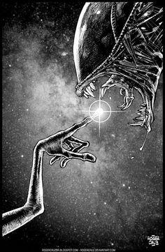 El desván del Freak: Alien Vs. Alien.