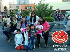 «La alegría si es compartida es más alegría todavía» 🔴❤️ #ConElCorazónEnLaNariz #ContagiaAlegría