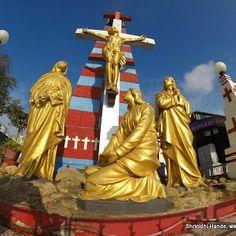 St Thomas Mount Shrine, Chennai St Thomas, Chennai, Statue Of Liberty, Saints, Places To Visit, God, Travel, Statue Of Liberty Facts, Dios