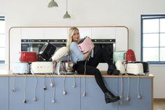 deVOL Kitchens photographs Smegs brand new small kitchen appliance range!