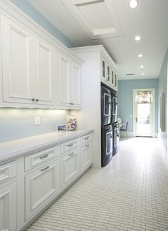 Lane Myers Construction Custom Home Builder  Love the paint color and who couldn't use double washer & dryers
