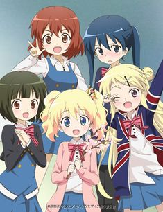 Kiniro Mosaic- One of my favourite shows, almost as good as K-on!