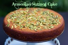 Within the Kitchen: Daring Baker's Challenge Part I - Armenian Nutmeg Cake