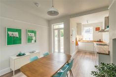 3 bedroom terraced house for sale in Springvale Road, Crookes, Sheffield, - Rightmove. Open Plan Kitchen Diner, Open Plan Kitchen Living Room, Open Plan Living, Home Decor Kitchen, Home Kitchens, Kitchen Design, Dining Room, Victorian Terrace Interior, Mid Terrace House