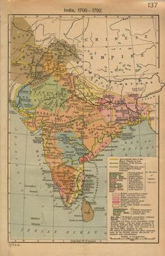 University of Texas Library's collection of modern maps of India (political, geographical and thematic).