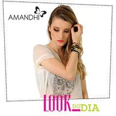 Look do Dia - Segunda Hot! | Amandhí | www.amandhi.com
