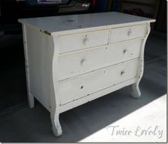 Twice Lovely--Great site with good information on paint finishes