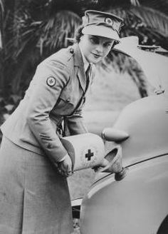 Red Cross Transport Driver. May 1943