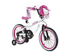 Hello Kitty Girl's Bike, White, 18-Inch http://coolbike.us/product/hello-kitty-girls-bike-white-18-inch/