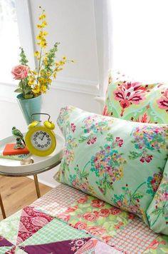 Pillow talk - Love the fabrics