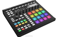 Native Instruments Maschine Production and Performance System with Komplete 12 Select Studio Equipment, Dj Equipment, Studio Gear, Native Instruments, Music Instruments, Color Pad, Colour, Sound Library, Drum Pad