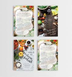 Serenbe Farm Cards by SeeMeDesign, via Behance