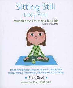 Monastery Store - Sitting Still Like a Frog: Mindfulness Exercises for Kids (and Their Parents) with CD, $17.95 (http://monasterystore.org/sitting-still-like-a-frog/)