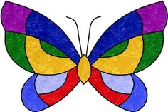 Darryl's Stained Glass Patterns - butterfly