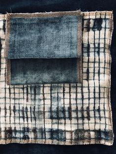 Le lin jute stone washed impression tie and dye Cobalt in Love avec les velours lavé bleu canard Tsar Impression, Cobalt, Sweet Home, Decoration, Interior, Blue, Home Decor, Teal, Child Room