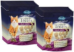 HiLife It's Only Natural Indulge Me Cat Treats 100% Duck Breast '12 x Bags'
