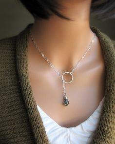 really simple lariat. look at the celtic toggle receptors