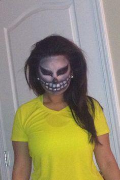 Halloween makeup by avarine