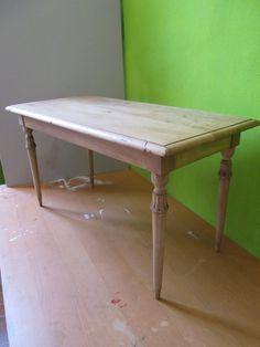 Tavolino schiarito