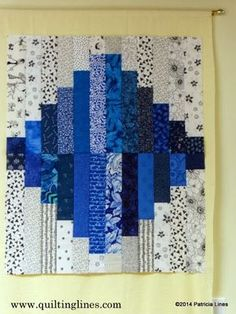 Quilting Lines: Snow In Georgia ~ Quilt Block