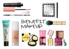 """""""BENEFIT MAKEUP"""" by queenstone on Polyvore featuring beauté, Benefit, makeup, nude, benefit et maquillage"""