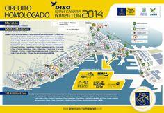 """Más de 3500 atletas de la maratón y de la media maratón del """"Disa Gran Canaria Maratón"""" correrán este domingo por el paseo de Las Canteras."""