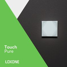 Our popular touch switch has undergone a redesign to give you that extra bit of luxury. A sleek design with a silken glass finish and clean lines gives this product its name - Touch Pure. Smart Home Control, Shops, Smart Home Technology, Clean Lines, Contemporary Design, Designer, Letters, Touch, Pure Products