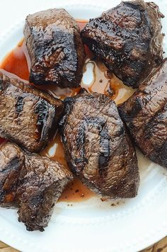 Whiskey Balsamic Steak Marinade