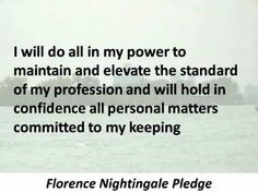 Nightingale Pledge - Hear and Read the Full Text - YouTube