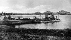 Tour Scotland Photographs: Old Photograph St David's Harbour Dalgety Bay Fife Scotland